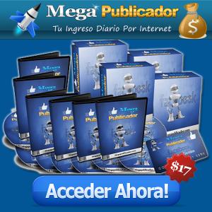 Mega publicador : descubra el metodo marketing para publicitar producto sobre facebook