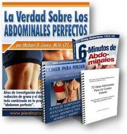 Alimentos para quemar grasa abdominal y tener abdominales perfectos