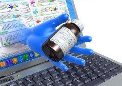 Elección de medicamentos en Internet para comparar los precios