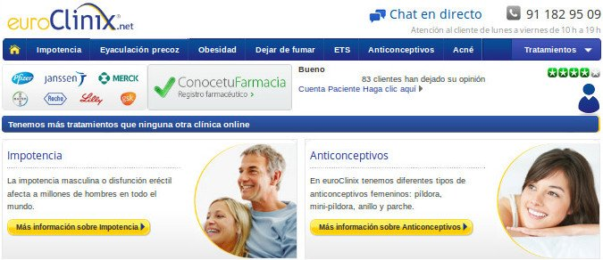 Euroclinix es el líder europeo de salud online