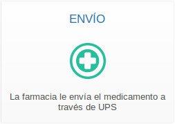 la farmacia que le enviará el medicamento y tratamiento