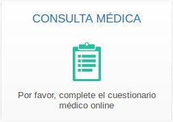Hacer la consulta online y completar el cuestionario médico