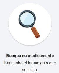 Búsqueda del medicamento en una farmacia online