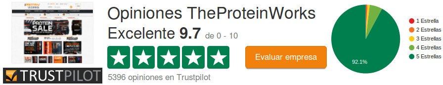 Consulte la opinión, evaluación y testimonios sobre theproteinworks.com