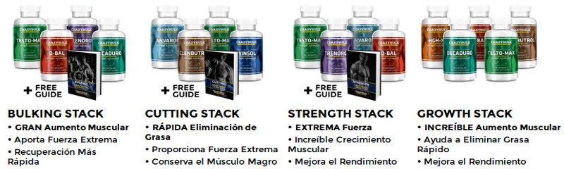 Descubra los packs crazybulk para combinar eficazmente los esteroides
