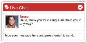 Los expertos de crazybulk le acompañan vía chat online para realizar su elección y responder a sus preguntas