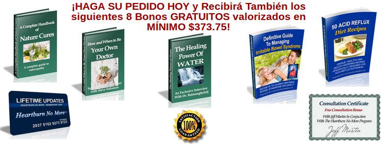 libros pdf ofrecen con el programa No Más Acidez Jeff Martin