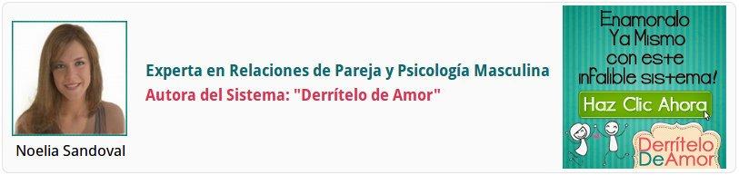 Noelia Sandoval est la autora del sistema derritelo de amor