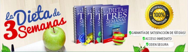 La dieta de 3 semanas pdf garantía de 60 días