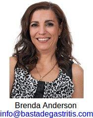 Brenda Anderson es la autora del libro pdf basta de gastritis