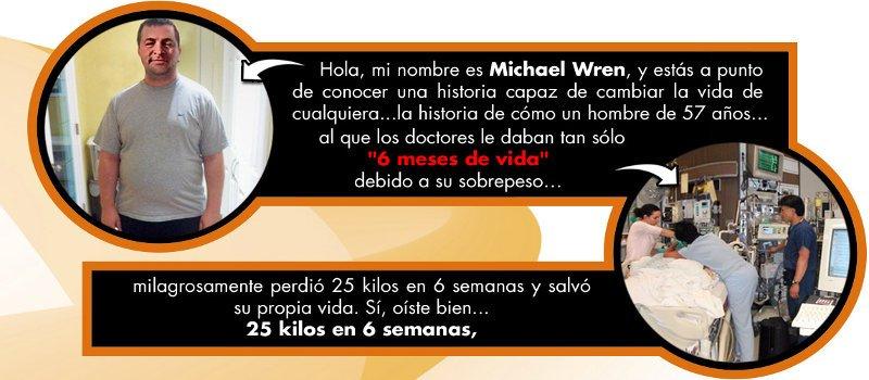 Michael Wren es autor del libro pdf desintegrador de grasa