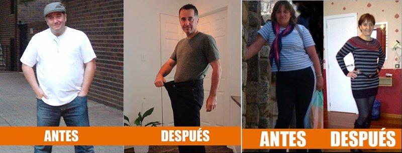Opiniones y testimonios antes y despues sobre desintegrador de grasa