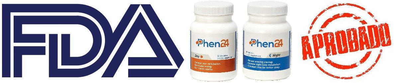 La autoridad reguladora FDA testado y aprobado la efectividad de phen24