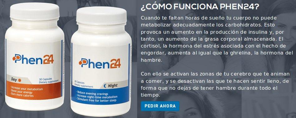 Como functiona phen24 para eliminar la grasa y perder los pesos superfluos