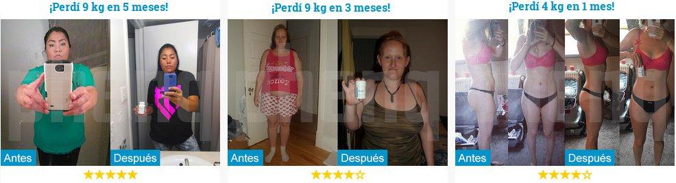 opiniones phenq.es : fotos antes después de phenQ y resultados en consumidores