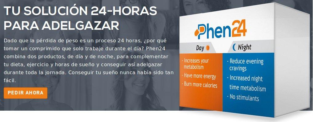 Phen24 combina dos productos día y noche para mejorar su dieta