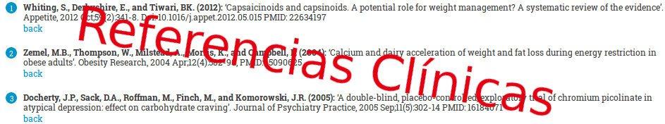 Referencias clínicas prueban los estudios relativos a las pastillas de dieta