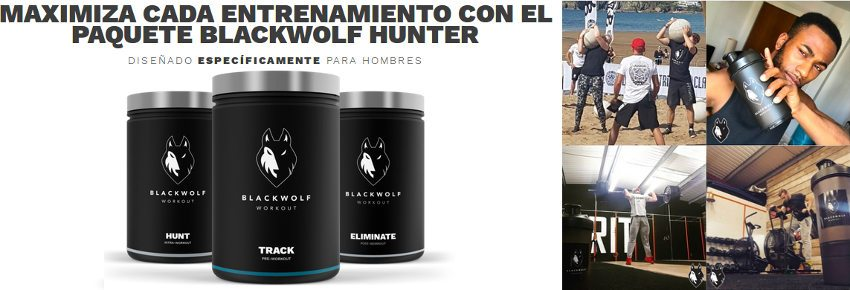 blackwolf hunter hombres contener paquetes track hunt y eliminate