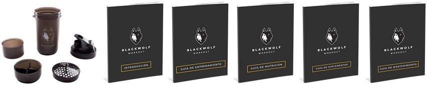 bonos de regalo shaker blackwolf y 5 guías de entrenamiento