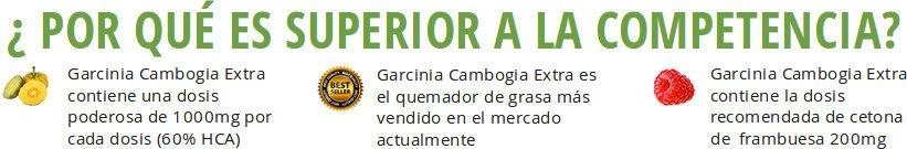 Garcinia cambogia extra contiene ingredientes superiores