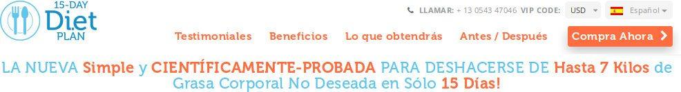 opiniónes 15 días diet plan pdf España di.et