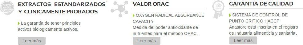 ingredientes clínicamente probados y garantía de calidad en productos de Anastore