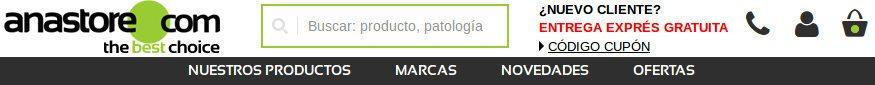 sitio web oficial España Anastore.com para comprar sus complementos alimenticios