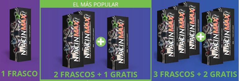 Cómo comprar en el sitio oficial niacinmax.es y elegir el mejor spray adaptado a tus elecciones