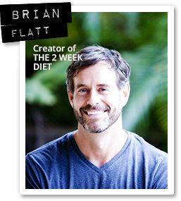 Brian Flatt es el autor y creador de la dieta de las 2 semanas