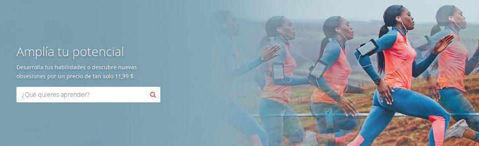 Estudie a través de los cursos en línea de Udemy.com de expertos y entrenadores