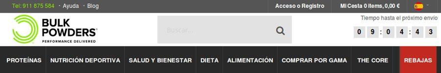 Bulkpowders.es: opiniones de los clientes para saber si es confiable comprar en el sitio en español