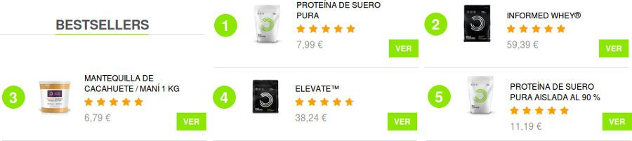 Los mejores productos de Bulkpowders: proteínas, nutrición deportiva y suplementos alimenticios para la salud y el bienestar