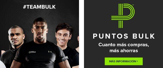 Puntos Bulk: ahorre dinero al comprar en Bulk Powders en español