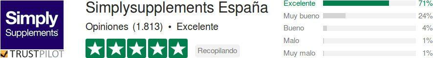 Simplysupplements España : opiniones y testimonios de los consumidores para juzgar la fiabilidad