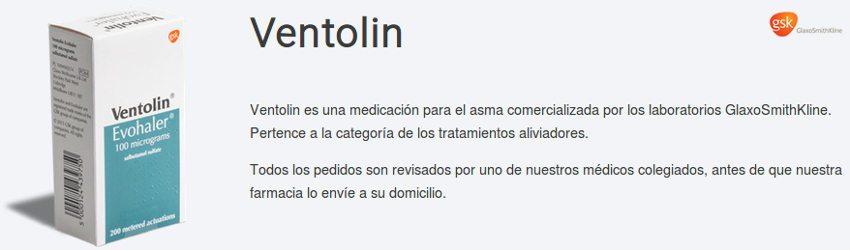 Comprar Ventolin: tratamiento eficaz para el asma disponible en la farmacia española