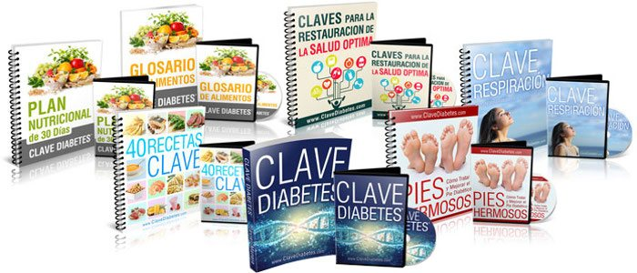 Paquete total de todos los productos del programa Clave Diabetes
