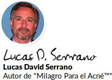 Lucas David Serrano es el autor del programa en línea Milagro para el acné