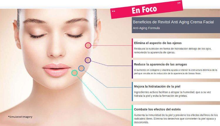 Beneficios y efectos secundarios de la crema Revitol para la cara