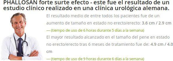Estudios científicos y opiniones de un médico sobre la eficacia de Phallosan Forte