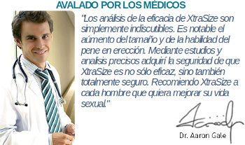 Estudios clinicos y opiniones de un médico sobre la eficacia de XtraSize