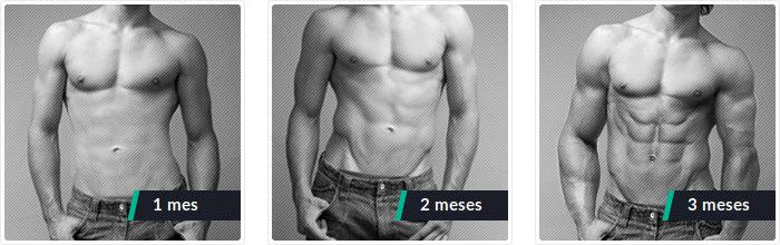 Experiencia clínica con resultados después de 1, 2, 3 meses de uso de probolan