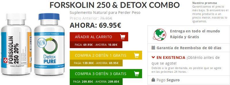Forskolin España: descripción, precios y opiniones