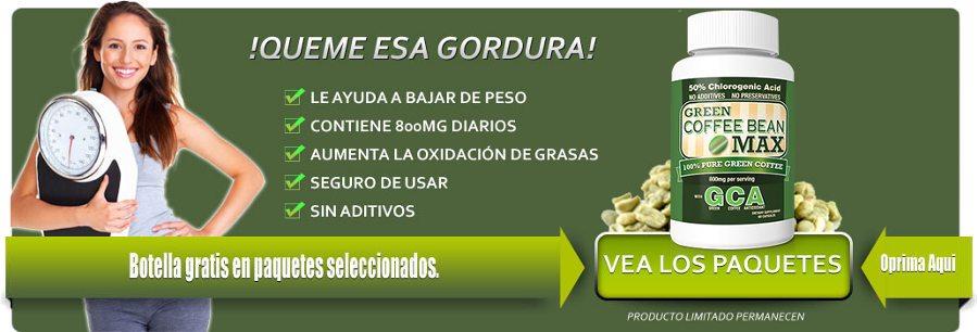 Green Coffee Bean Max España: descripción, precios y opiniones