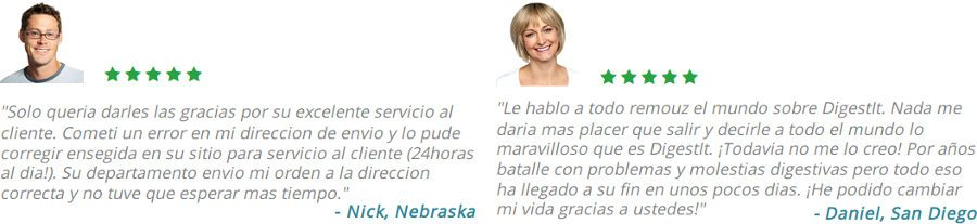 opiniones y testimonios digest it