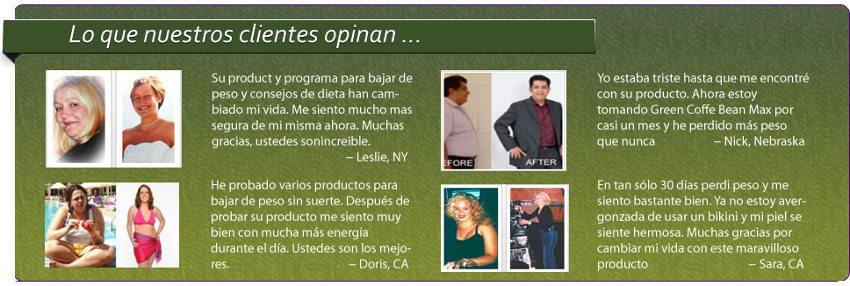 opiniones y testimonios Green Coffee Bean Max